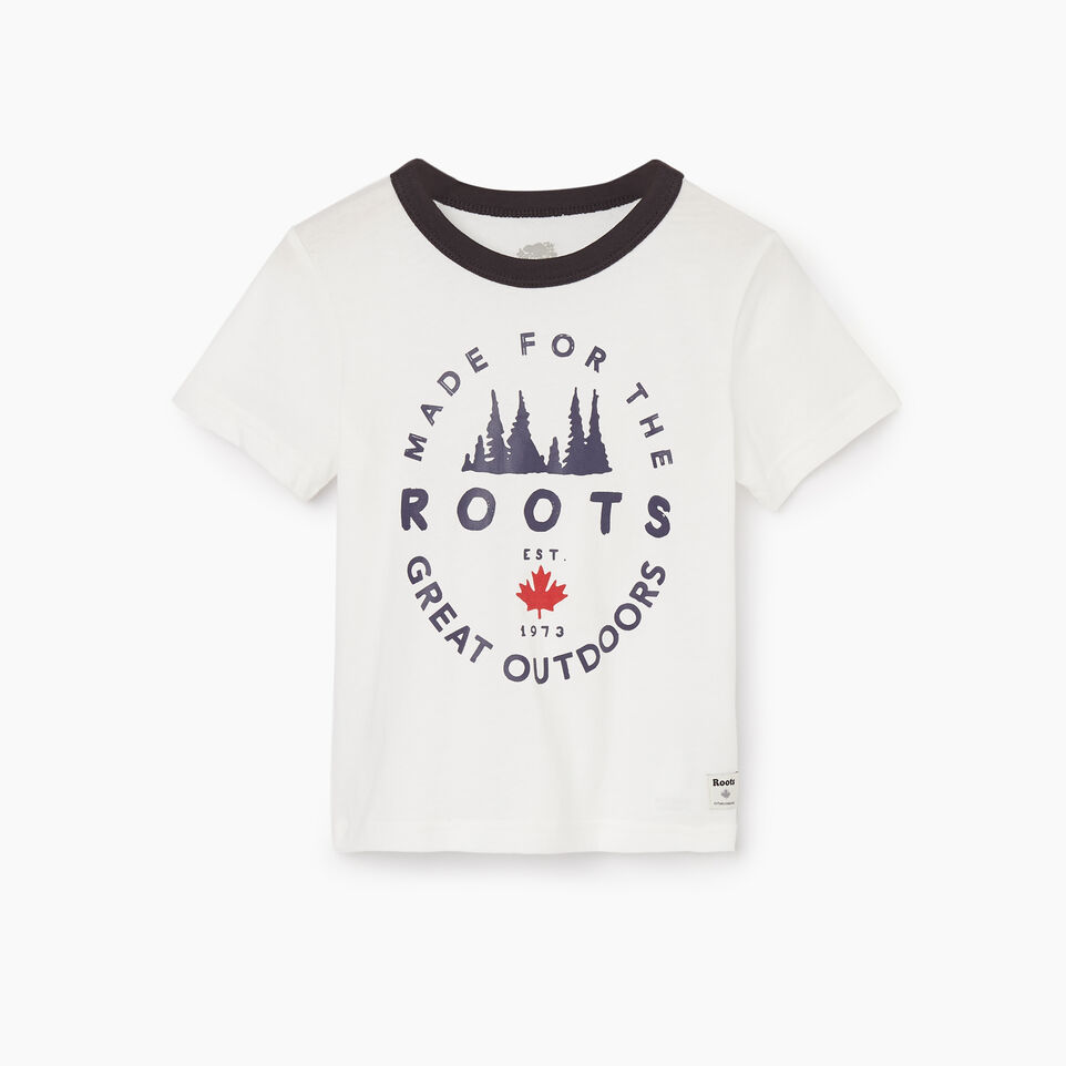 Roots-undefined-T-shirt Great Outdoors pour tout-petits-undefined-A