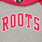 Roots-Kids Our Favourite New Arrivals-Girls 2.0 Colour block Raglan Hoody-Grey Mix-C