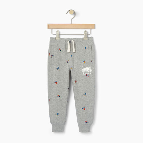 Roots-Kids Toddler Boys-Toddler Skier AOP Sweatpant-Grey Mix-A