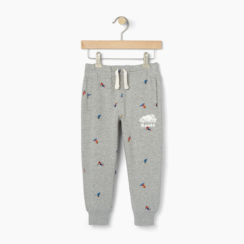 Roots-Kids Our Favourite New Arrivals-Toddler Skier AOP Sweatpant-Grey Mix-A