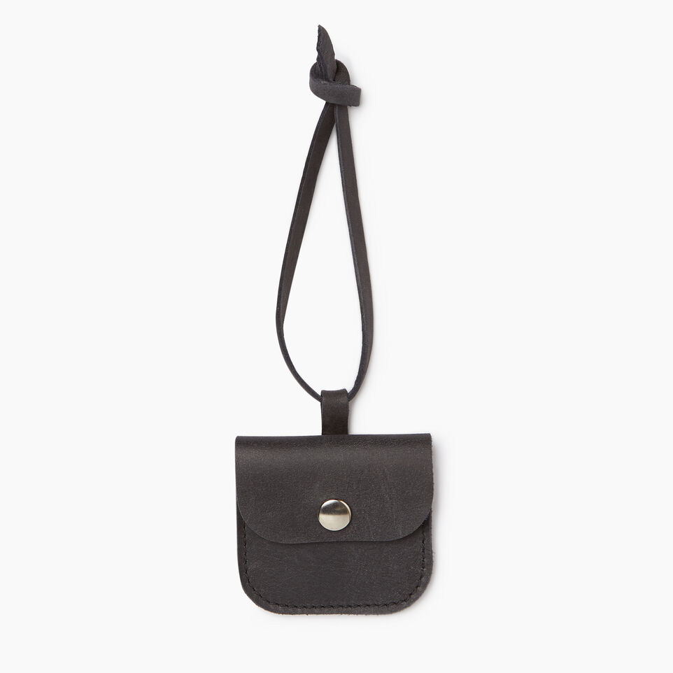 Roots-Leather Leather Accessories-Leather Tie Pouch-Jet Black-A