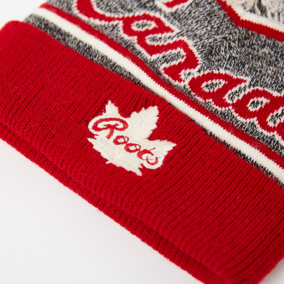 Roots-undefined-Toddler Canada Heritage Pom Pom Toque-undefined-C