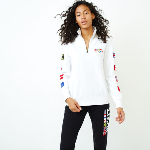 Roots-Women Sweatshirts & Hoodies-Roots Unity Stein-Crisp White-A