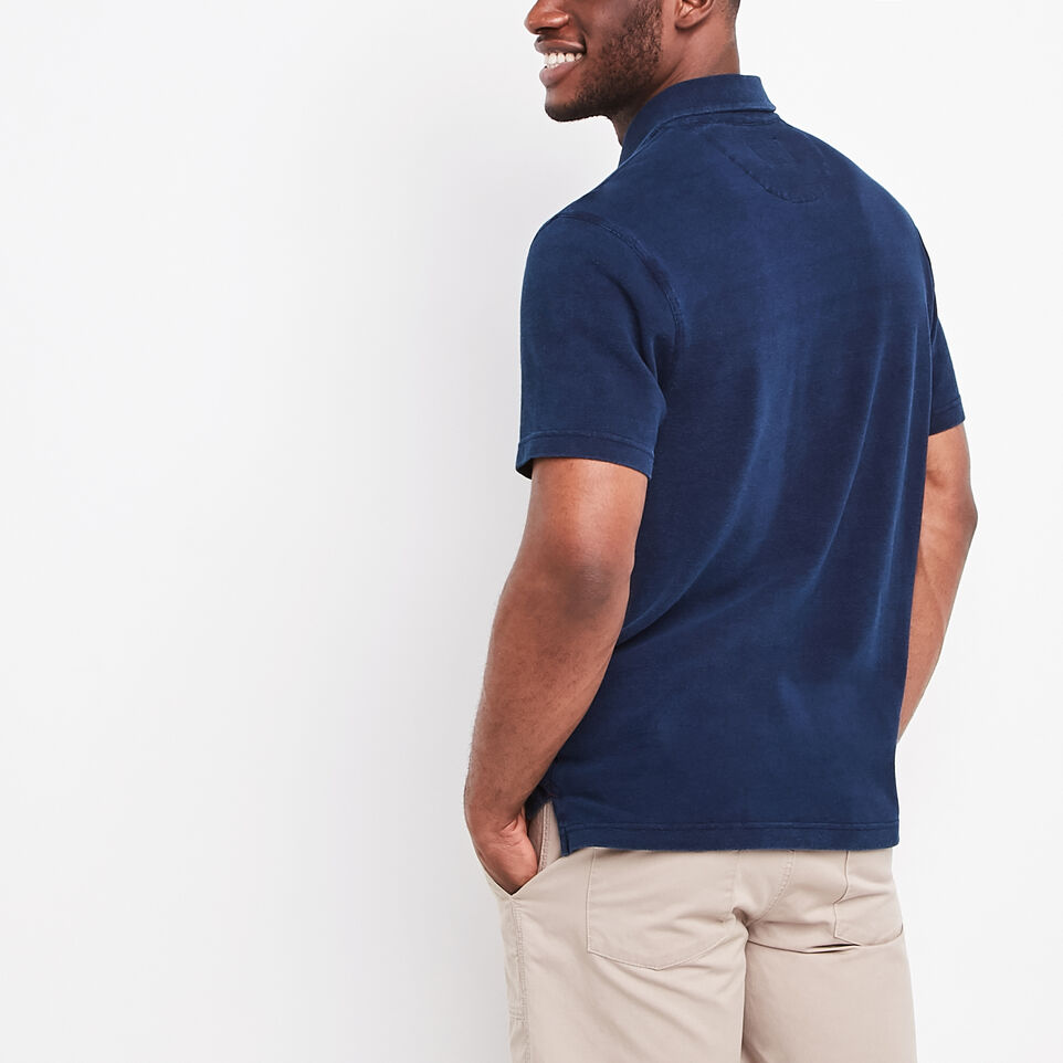 Roots-undefined-Ellesmere Indigo Pique Polo-undefined-D