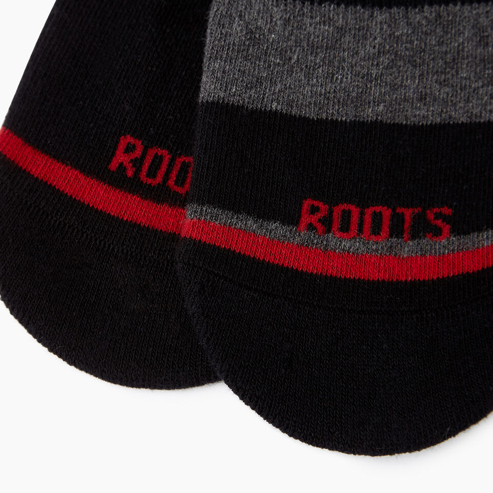 Roots-undefined-Mens No Show Sock 2 pack-undefined-C