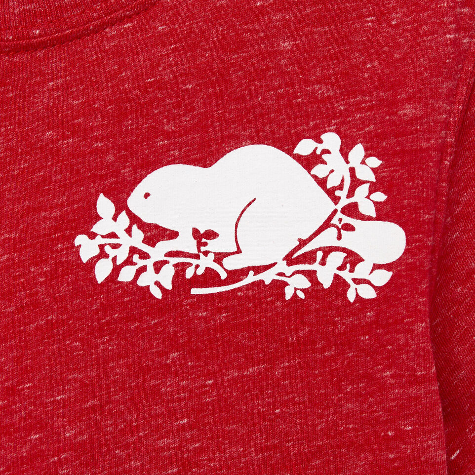 Roots-Kids Our Favourite New Arrivals-Toddler Bedford T-shirt-Sage Red Mix-D