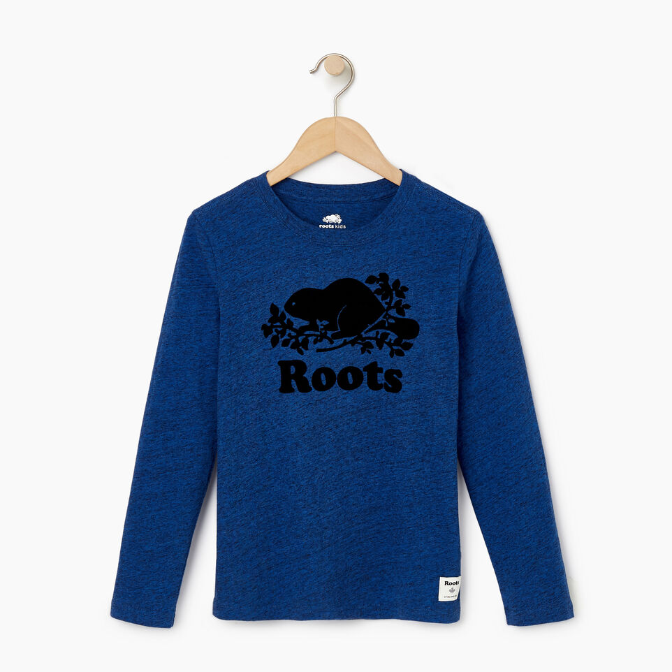 Roots-undefined-Boys Original Cooper Beaver T-shirt-undefined-A