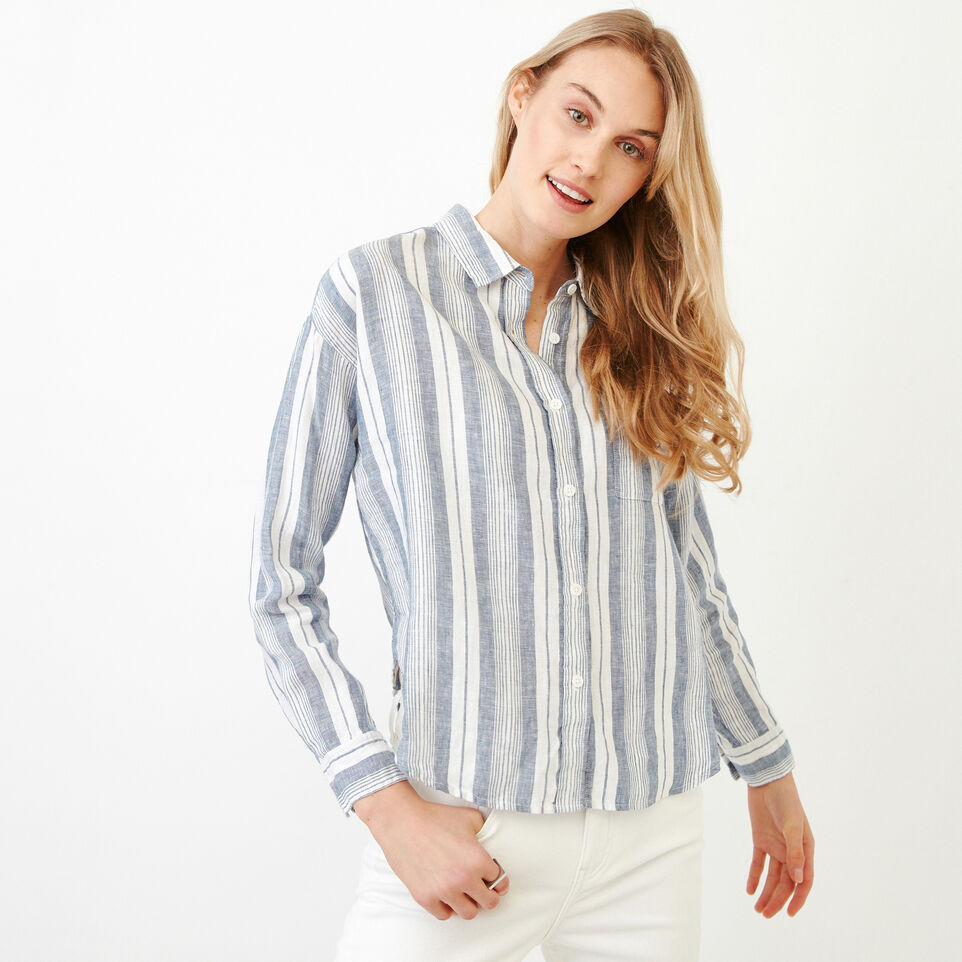 Roots-undefined-Baeberry Linen Shirt-undefined-A