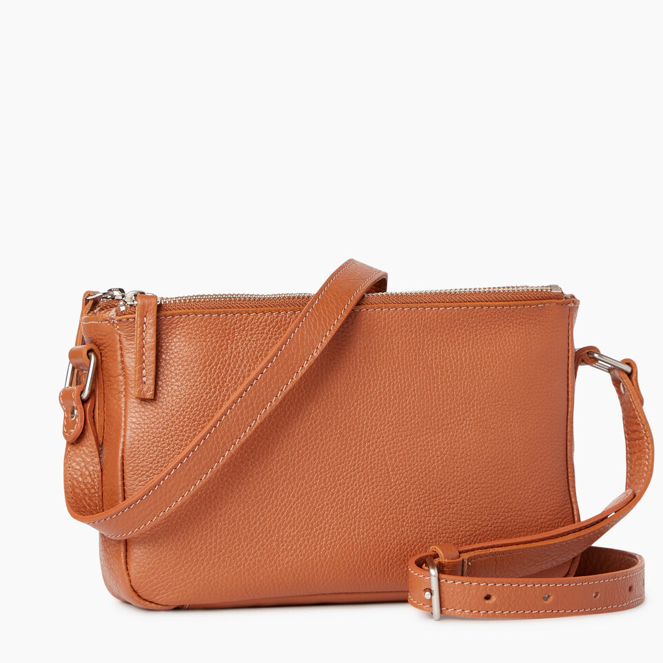 Roots-Leather Our Favourite New Arrivals-Main Street Crossbody-Caramel-A