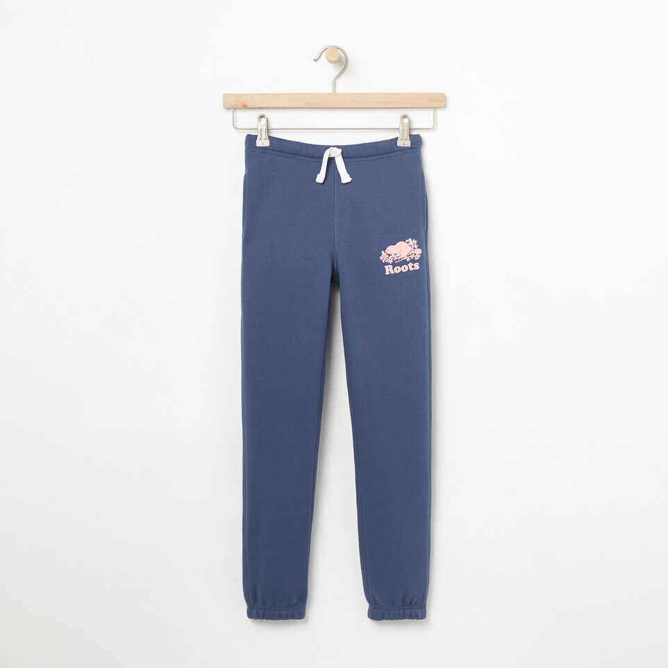 Roots-undefined-Girls Slim Roots Sweatpant-undefined-A