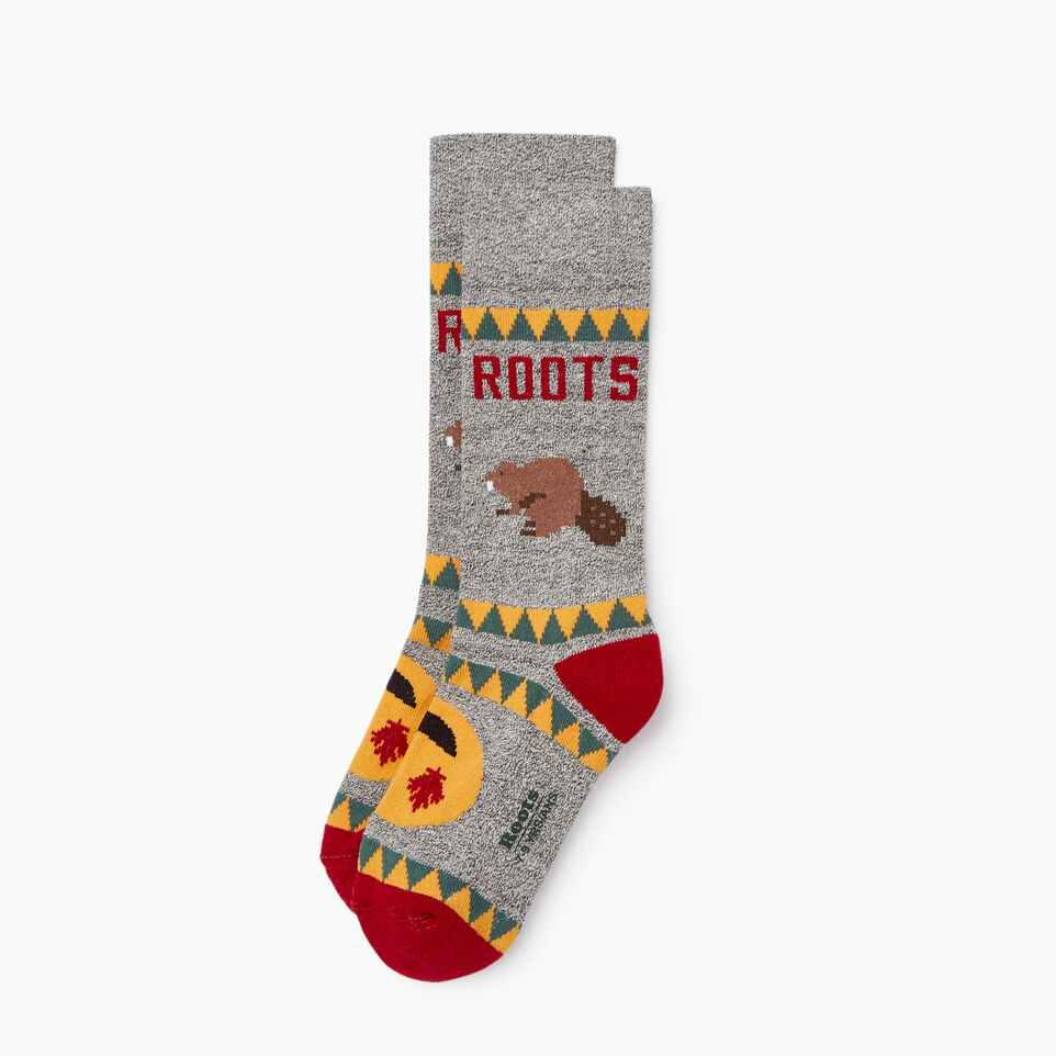 Roots-Kids Canadiana Boot Sock