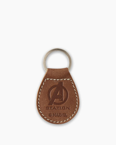 Roots-New For This Month Shop By Character-Avengers Key Fob-Natural-A