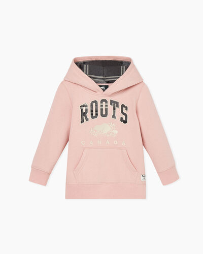 Roots-Sale Toddler-Toddler Heritage Plaid Hoody-Pink-A