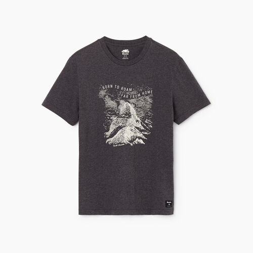 Roots-Men Our Favourite New Arrivals-Mens Nomad T-shirt-Charcoal Mix-A