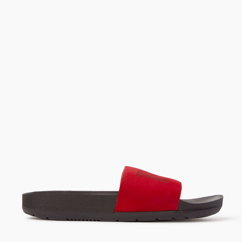 Roots-Women Footwear-Womens Long Beach Pool Slide-Chili Pepper-A