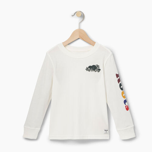 Roots-Kids T-shirts-Toddler Roots Remix T-shirt-Cloudy White-A