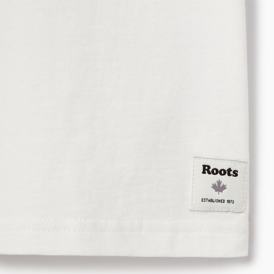 Roots-Kids New Arrivals-Boys Camo Knockout T-shirt-Ivory-C