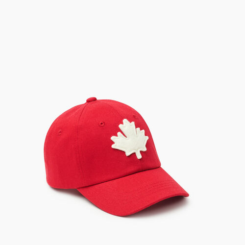 Roots-Kids Toddler Boys-Toddler Canada Baseball Cap-Red-A