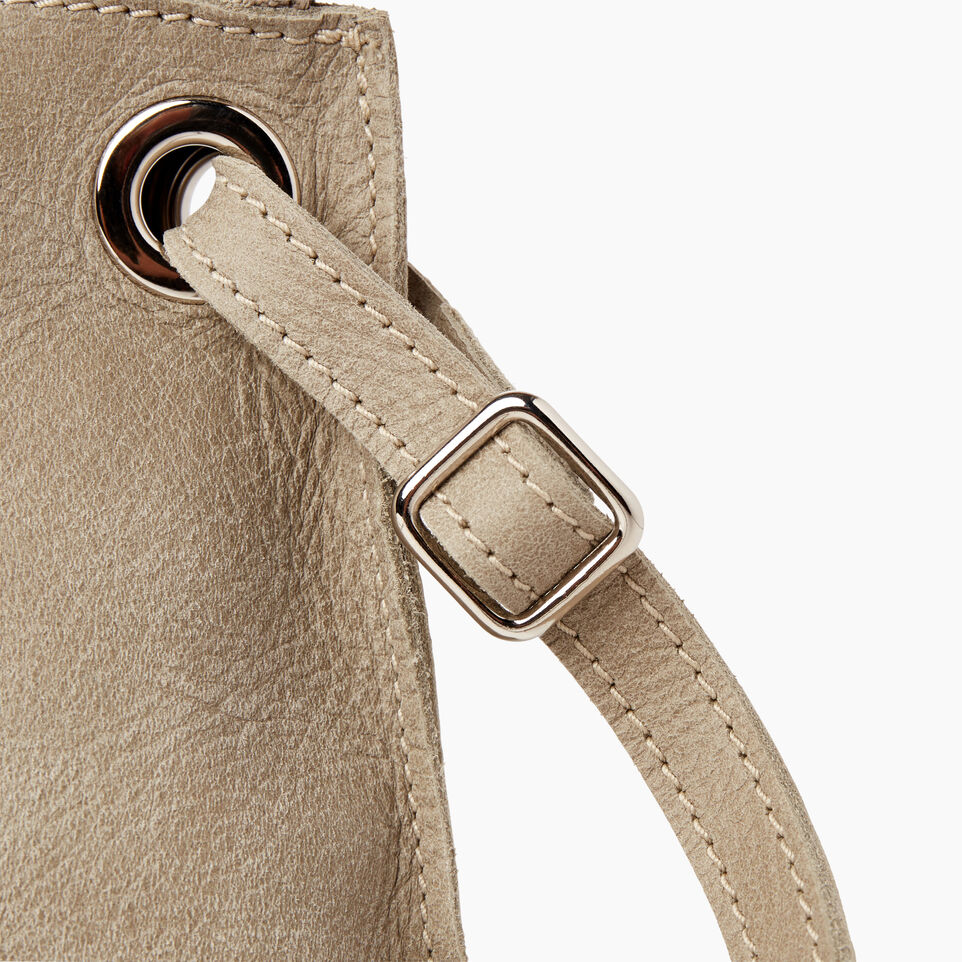 Roots-Leather Tribe Leather-Edie Bag-Mint-F