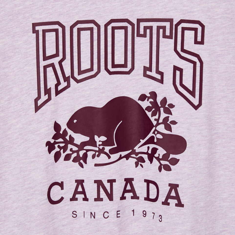 Roots-New For August Women-Womens Classic Roots Canada T-shirt-Lupine Mix-D