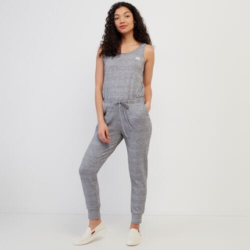 Roots-Women Dresses & Jumpsuits-Tofino Onesie-Grey Mix-A