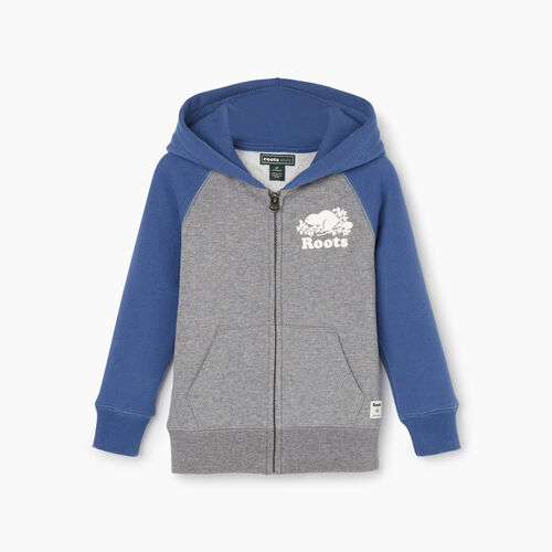 Roots-Kids Our Favourite New Arrivals-Toddler Original Full Zip Hoody-True Navy-A