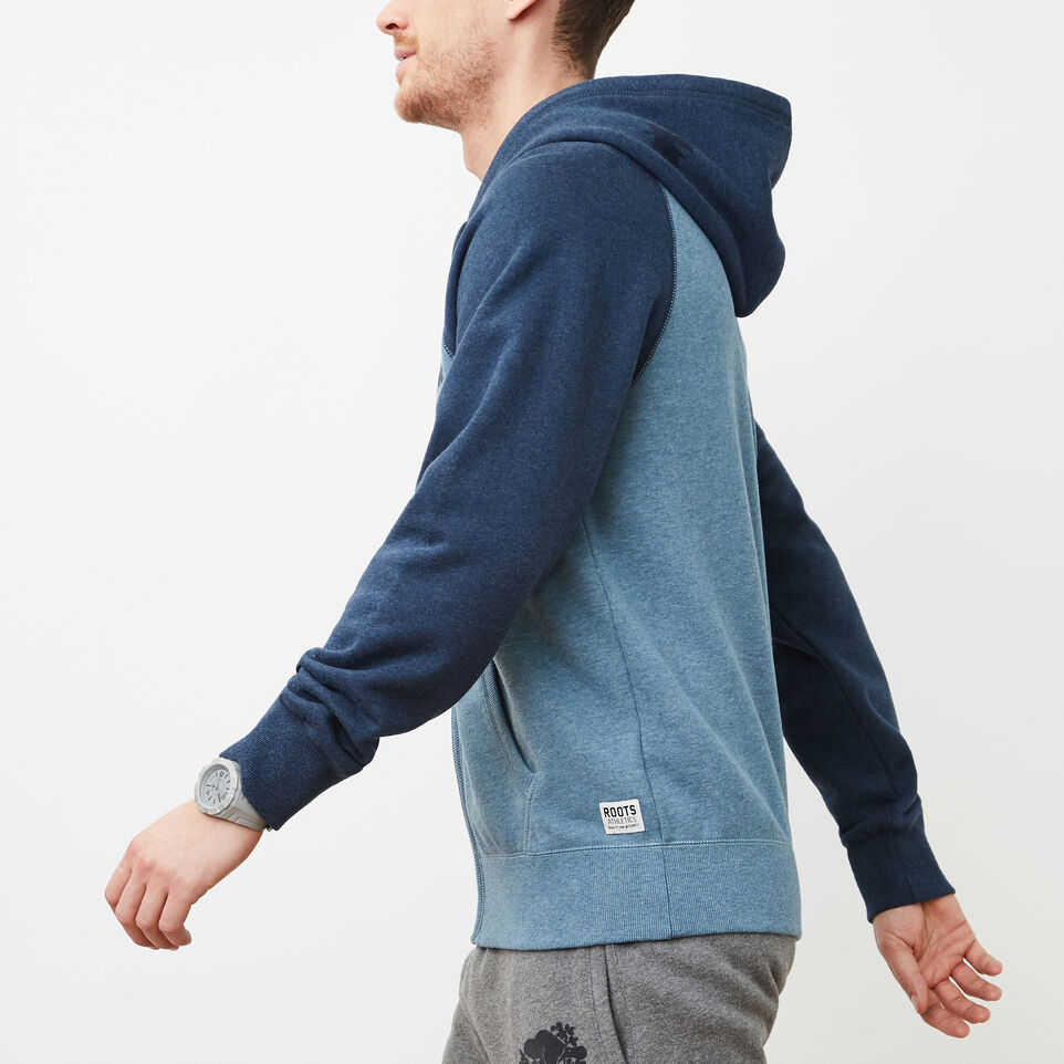 Roots-undefined-Contrast Full Zip Hoody-undefined-B