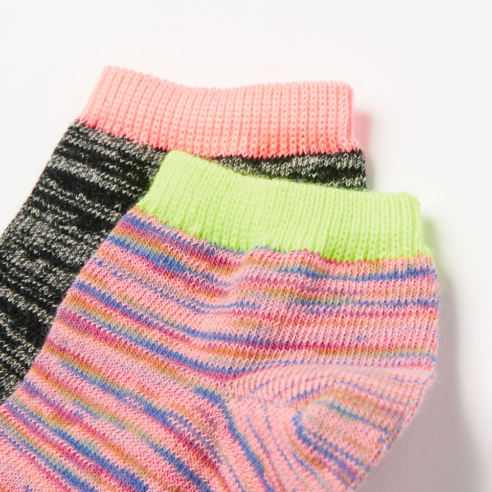 Roots-undefined-Womens Space Dye Ped Sock 2 Pack-undefined-C