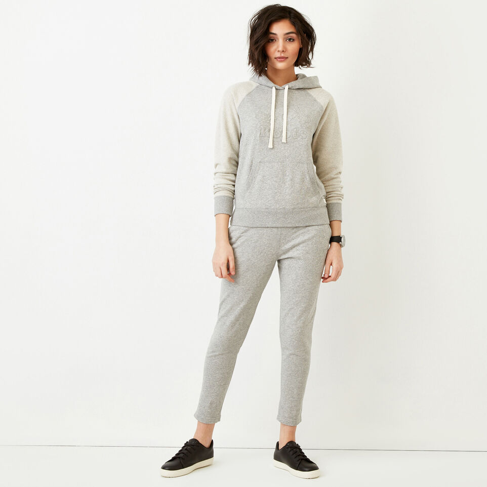 Roots-Women Our Favourite New Arrivals-Weymouth Hoody-Grey Mix-B