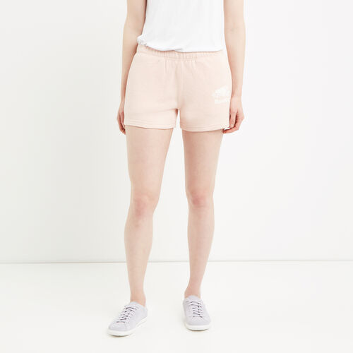 Roots-Women Bottoms-Original Sweatshort-Pale Blush Mix-A