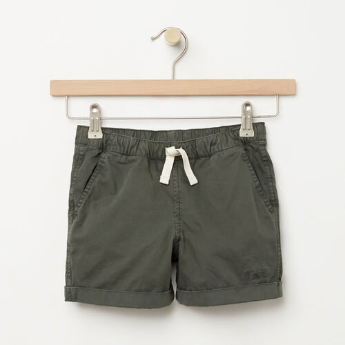 Roots-Sale Girls-Girls Pull On Short-Climbing Ivy-A