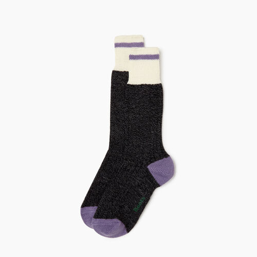Roots-Women Categories-Womens Roots Pop Cabin Sock 2 pack-Thistle-A
