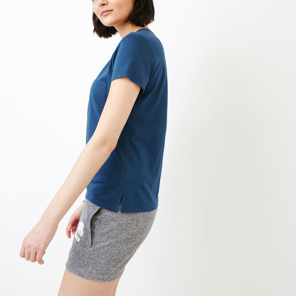 Roots-Women Our Favourite New Arrivals-Rennie Pocket Top-Sargasso Sea-C