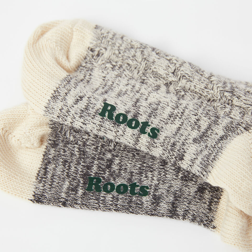 Roots-undefined-Womens Cable Park Sock 2 Pack-undefined-C