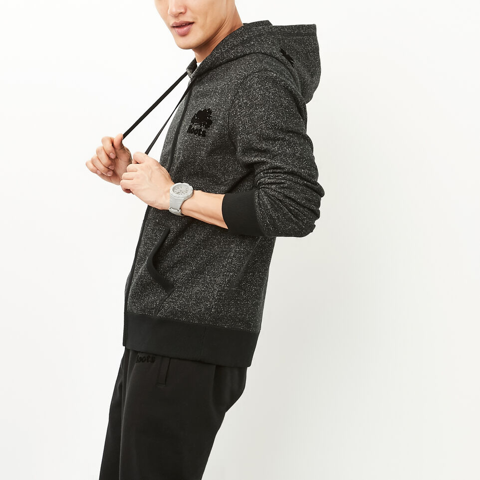 Roots-undefined-Roots Black Pepper Original Full Zip Hoody-undefined-C