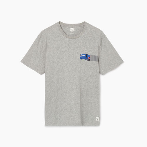 Roots-Men Our Favourite New Arrivals-Mens Centre Ice T-shirt-Grey Mix-A