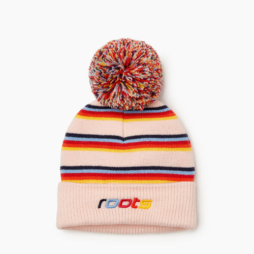 Roots-Kids Our Favourite New Arrivals-Toddler Speedy Pom Pom Toque-Multi-A