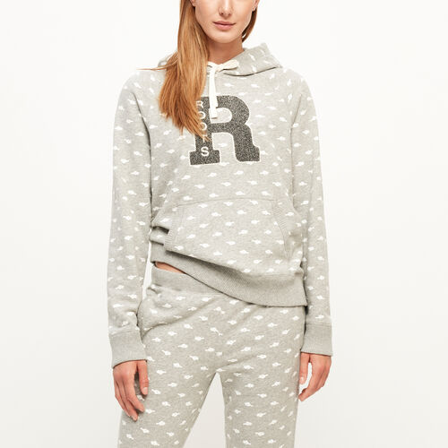 Roots-Sale Sweats-Varsity Monogram Kanga Hoody-Grey Mix-A