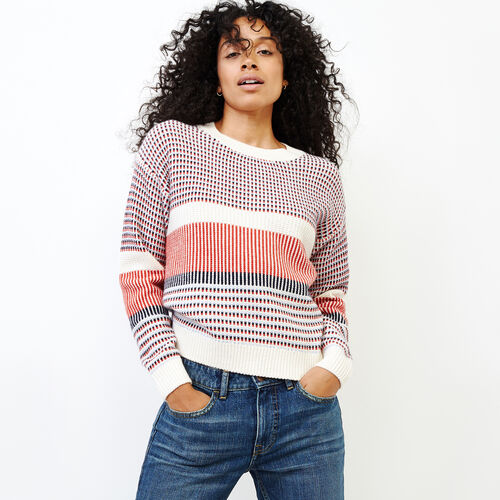 Roots-Women Sweaters & Cardigans-Bergen Sweater-Ivory-A