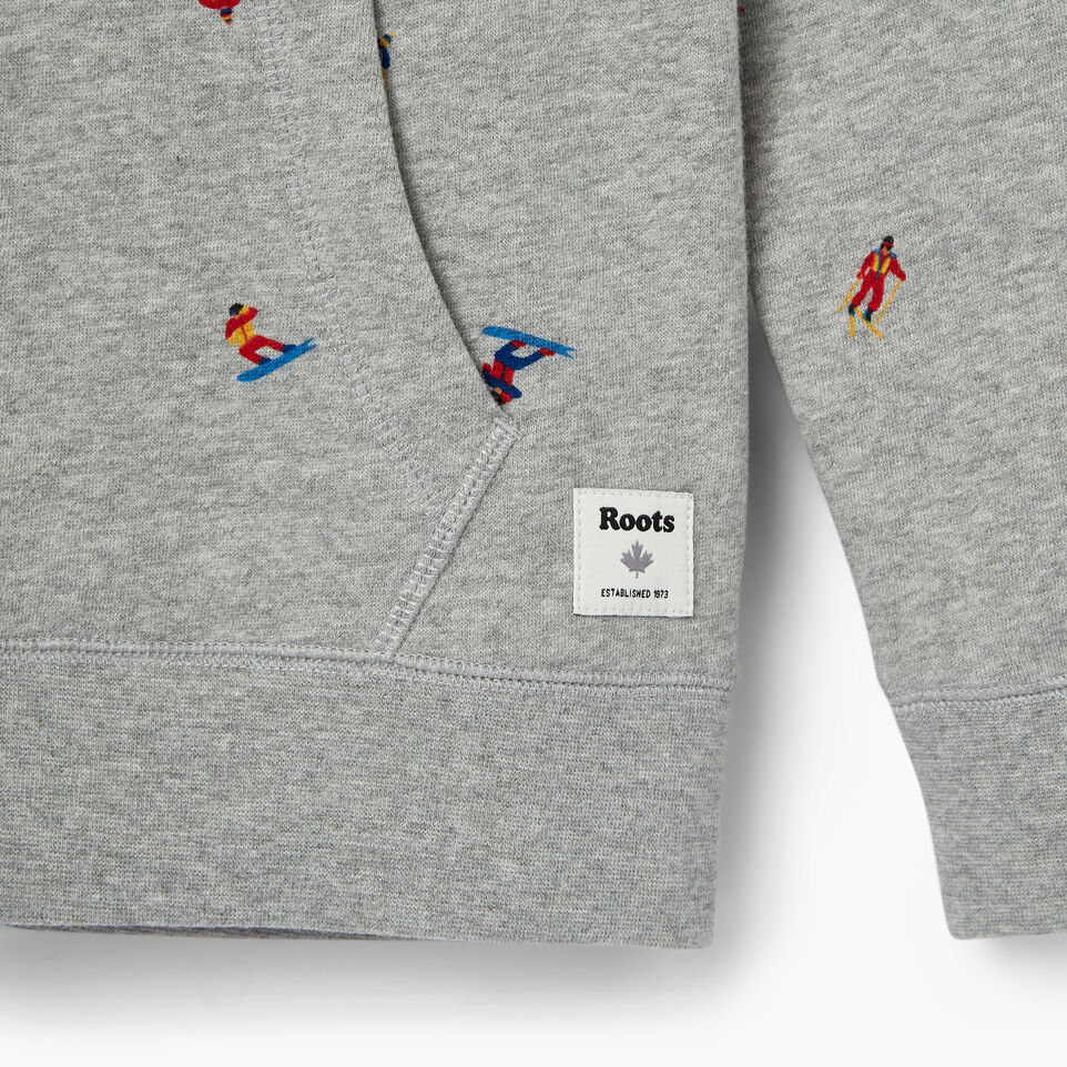 Roots-Kids Our Favourite New Arrivals-Boys Skier Kanga Hoody-Grey Mix-D
