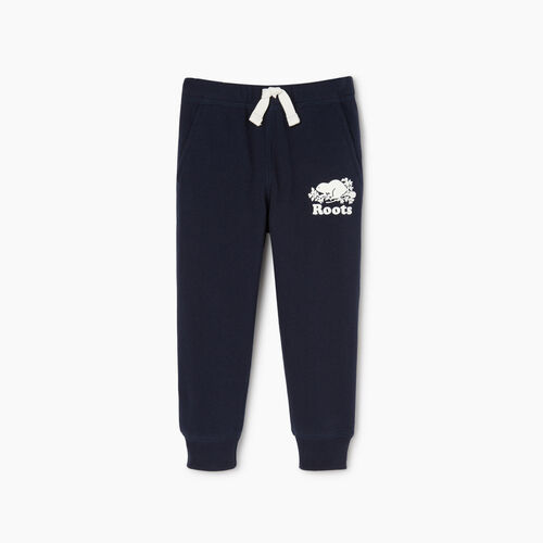 Roots-Kids Toddler Boys-Toddler Park Slim Sweatpant-Navy Blazer-A