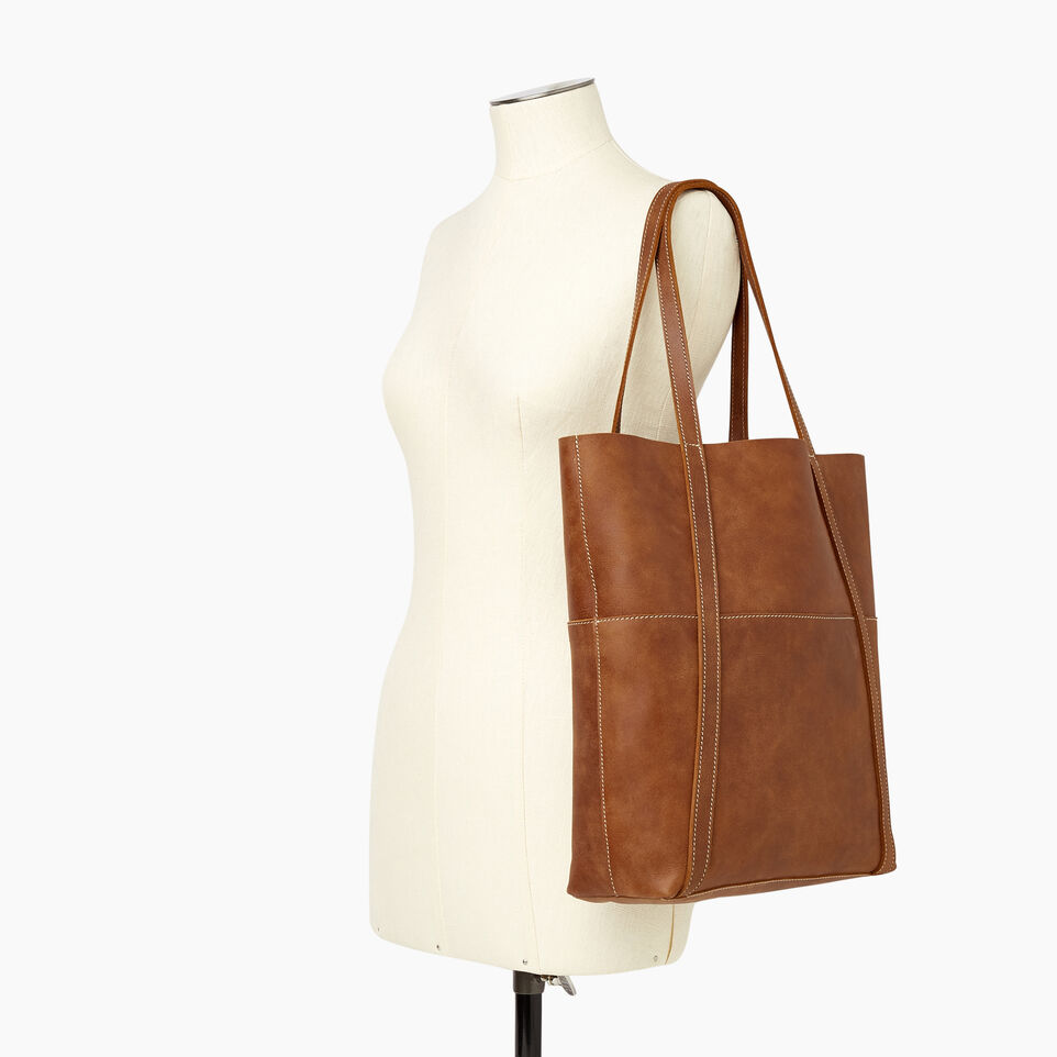 Roots-Leather New Arrivals-Westboro Tote-Natural-B