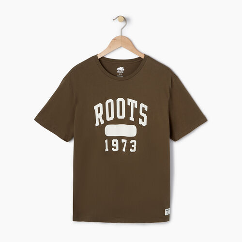 Roots-Men Our Favourite New Arrivals-Mens Block 1973 Canada T-shirt-Fatigue-A