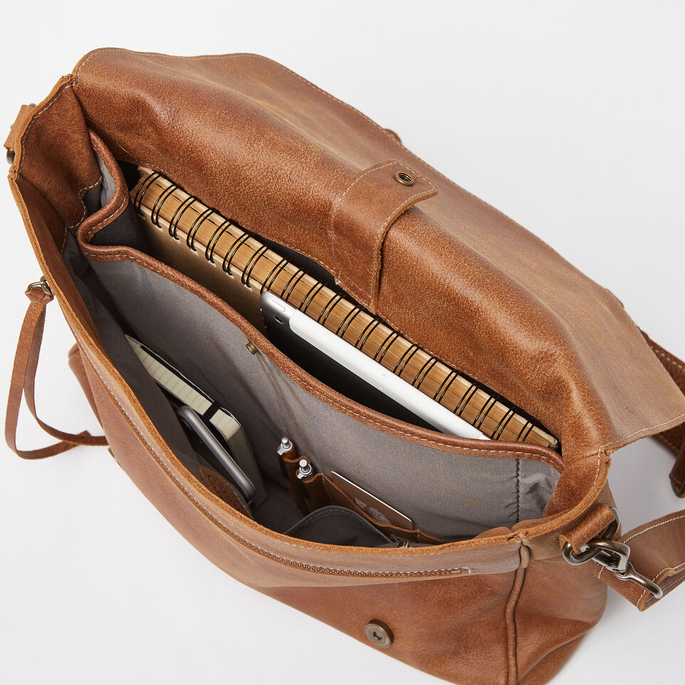 Roots-Leather Our Favourite New Arrivals-Modern Satchel Tribe-Natural-E