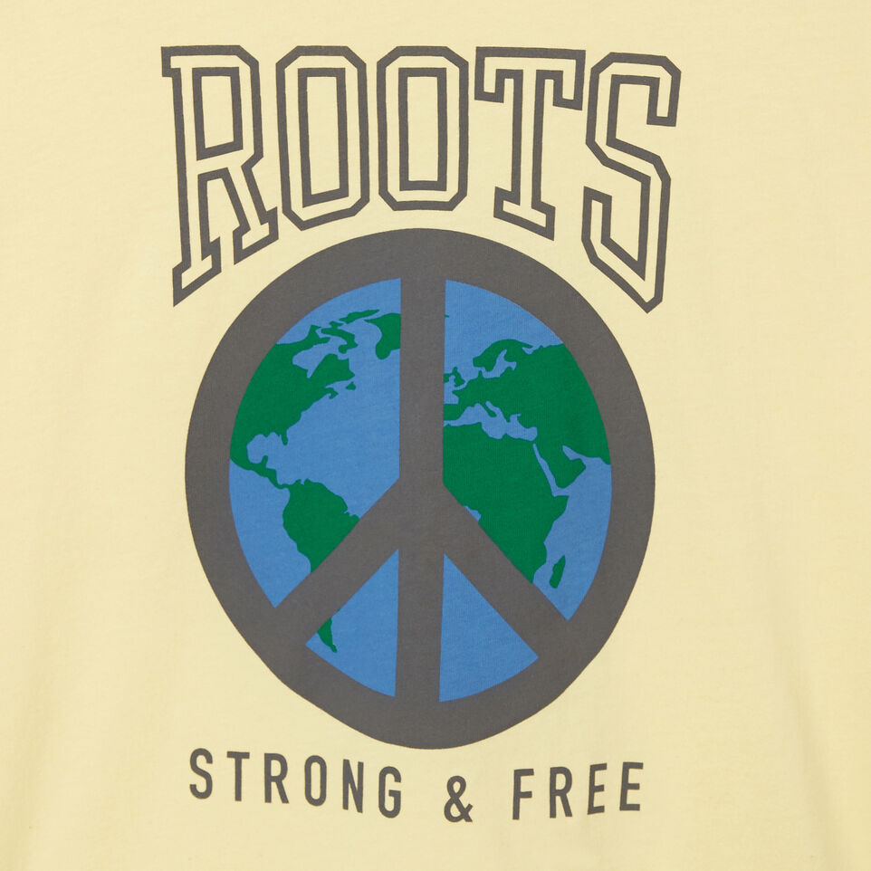 Roots-undefined-Boys Roots Raiders Peace T-shirt-undefined-C