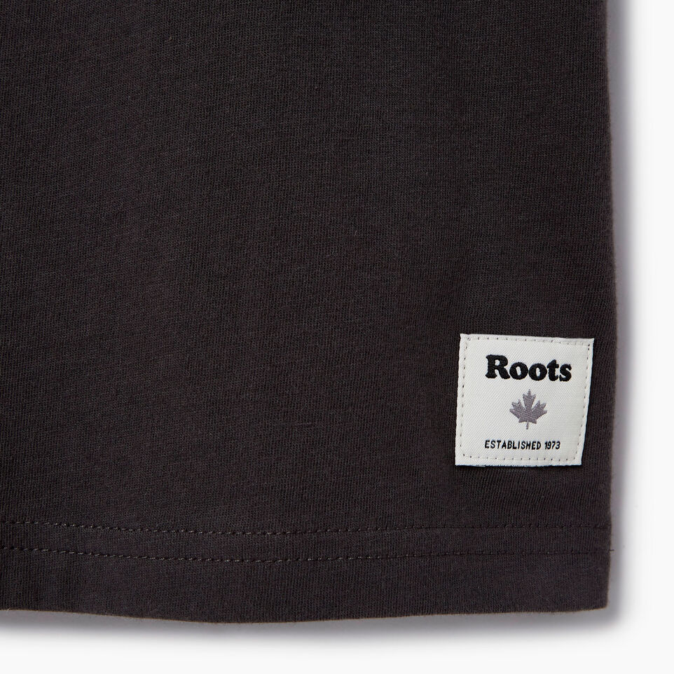 Roots-Kids Our Favourite New Arrivals-Boys Roots Paddle T-shirt-Coal Grey-C