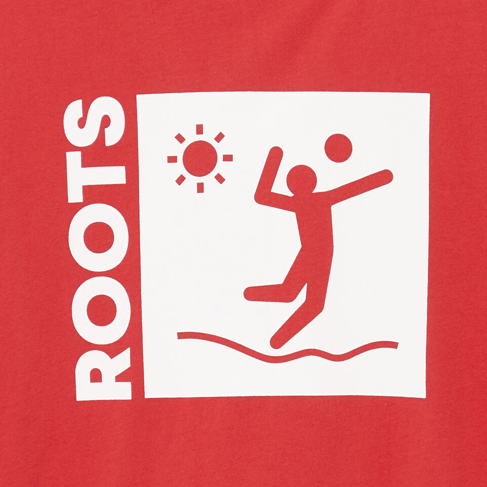 Roots-Men Our Favourite New Arrivals-Mens Roots Outdoors T-shirt-Chrysanthemum-D