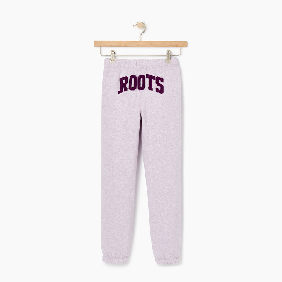 Roots-Kids Our Favourite New Arrivals-Girls Original Roots Sweatpant-Lupine Mix-B