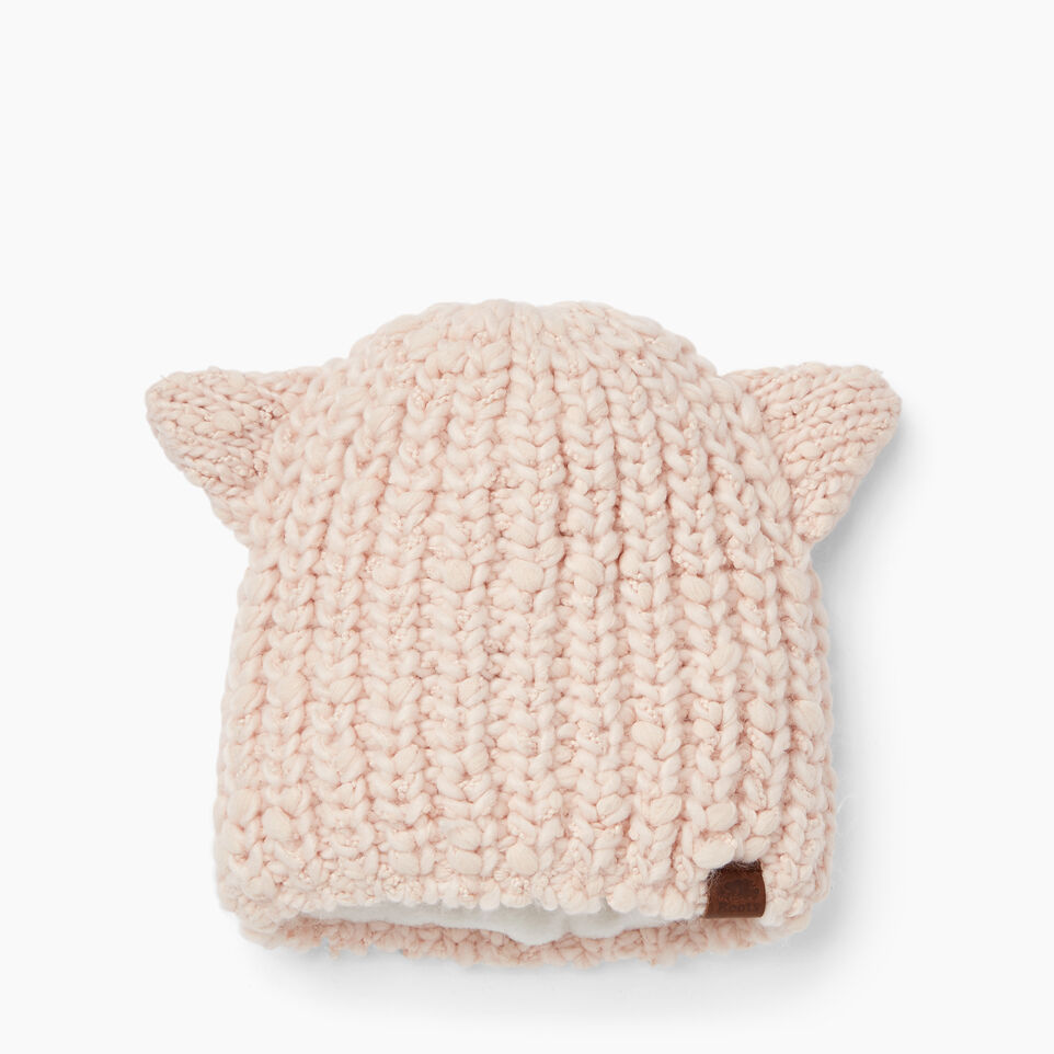Roots-Clearance Kids-Girls Charlotte Toque-Pink Mix-A