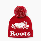 Roots-Sale Kids-Kids Cooper Glow Toque-Cabin Red-A